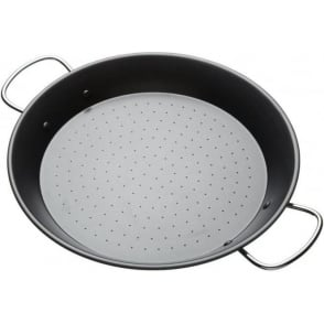 World of Flavours Mediterranean Non-Stick 32cm Paella Pan