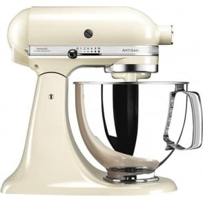 125 Artisan 4.8L Stand Mixer, Almond Cream
