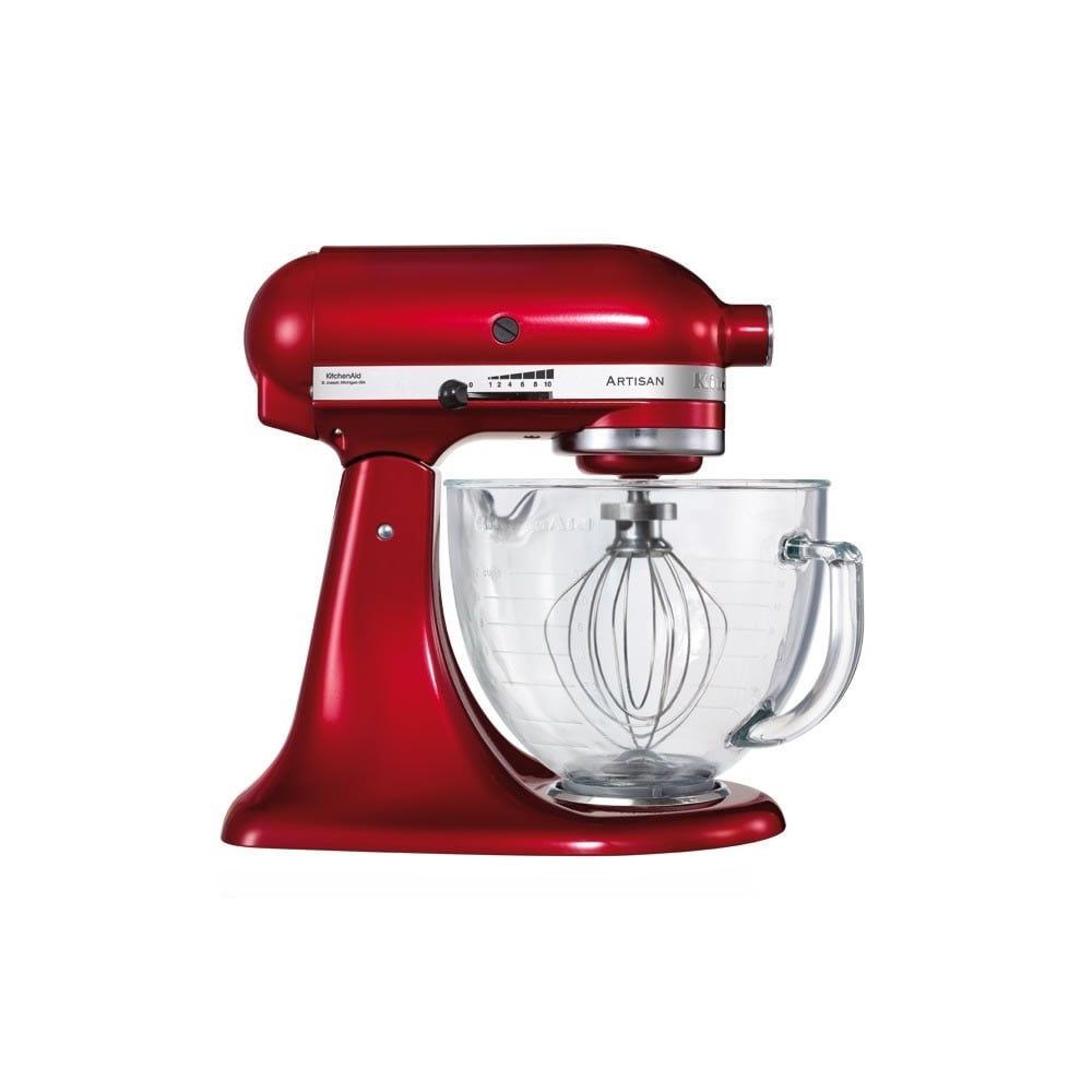 KitchenAid 156 Artisan 4.8L Stand Mixer, Candy Apple - Home ...