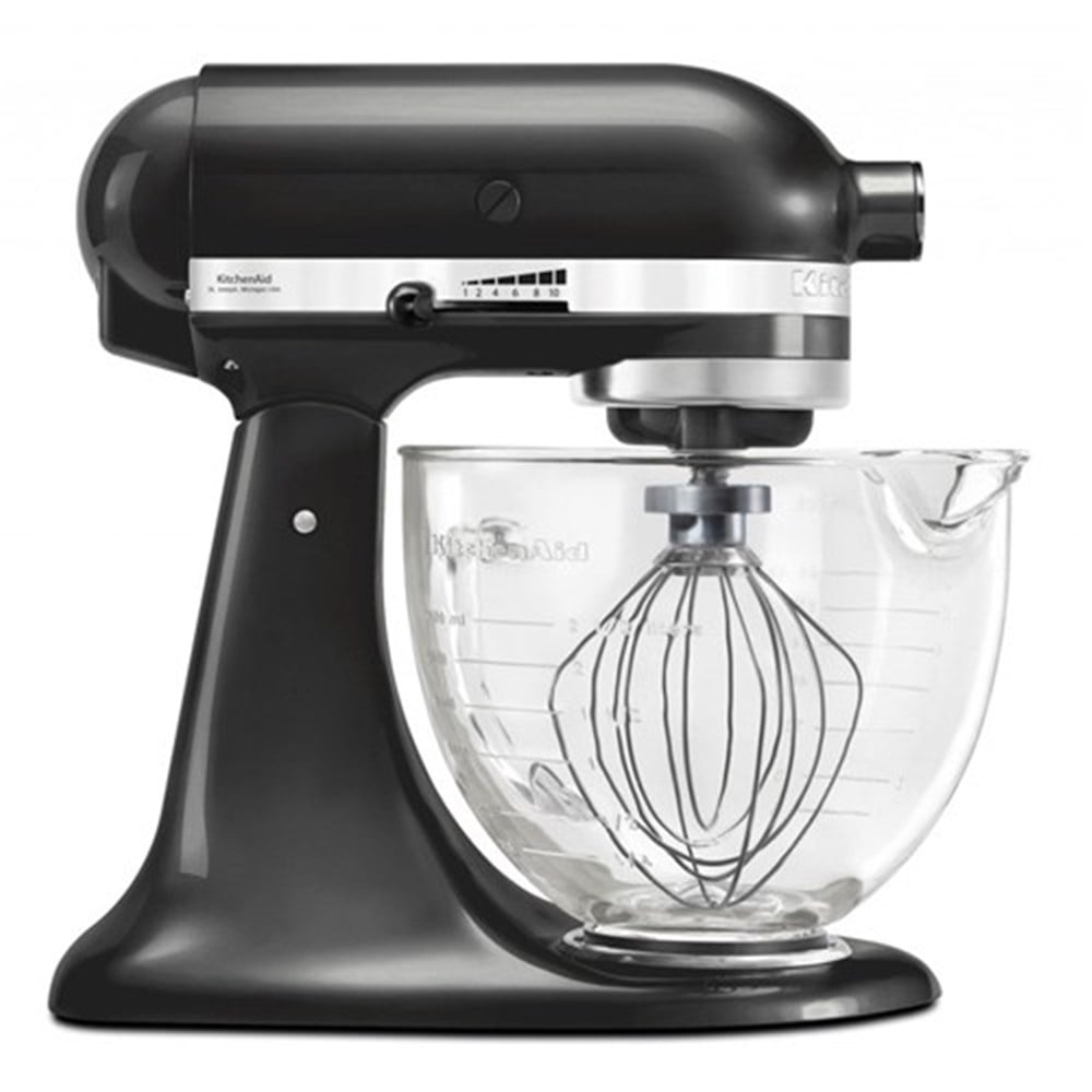 KitchenAid 4.8L Artisan Stand Mixer, Black Storm