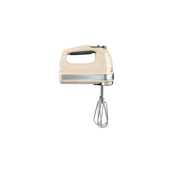 KitchenAid 5KHM9212 85W DC Motor Hand Mixer, Almond Cream