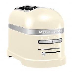 Artisan 2 Slice Toaster, Cream