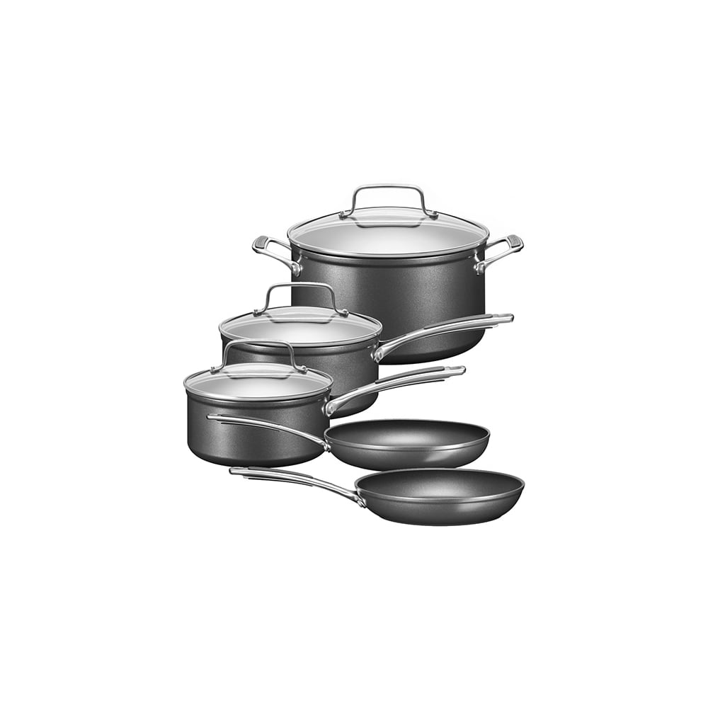 Kitchenaid kc2h1s08kd hard anodized 5 piece cookware set kitchenaid from uk - Kitchen aid pan set ...