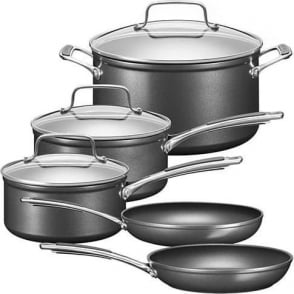KC2H1S08KD Hard Anodized 5 Piece Cookware Set
