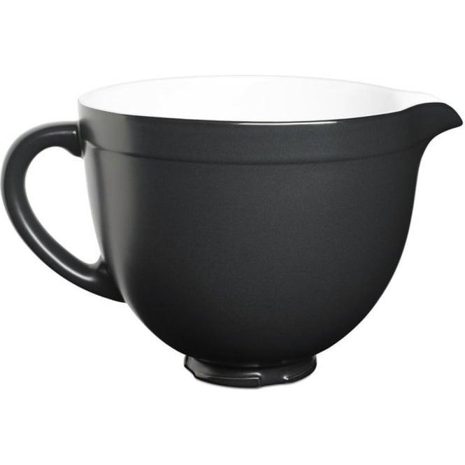 KitchenAid KSMCB5BM 5-Qt. Tilt-Head Ceramic Bowl, Black Matte