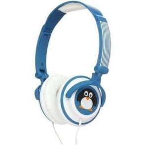 My Doodle Headphones Compatible with Smartphones, Tablets and MP3 Devices, Penguin