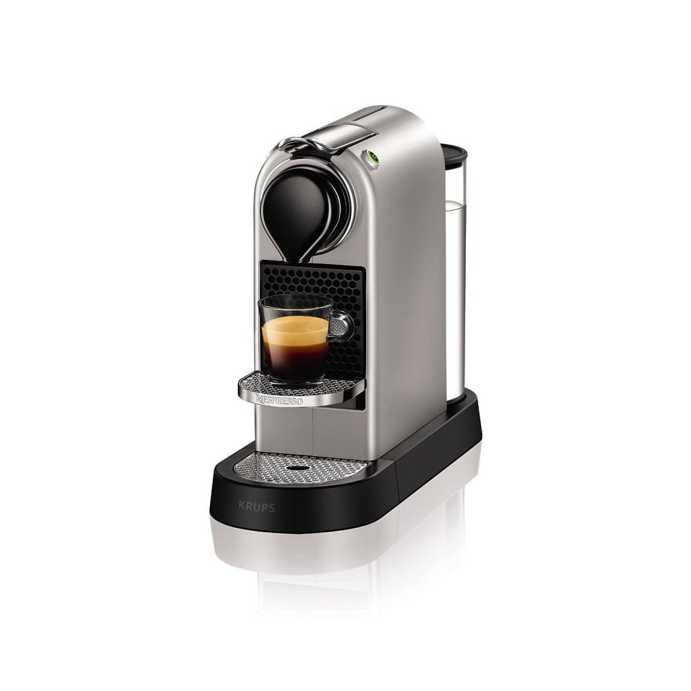 Krups Citiz Nespresso Machine Silver Small Appliances