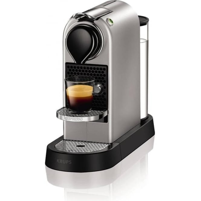 krups citiz nespresso machine silver small appliances sale from uk. Black Bedroom Furniture Sets. Home Design Ideas