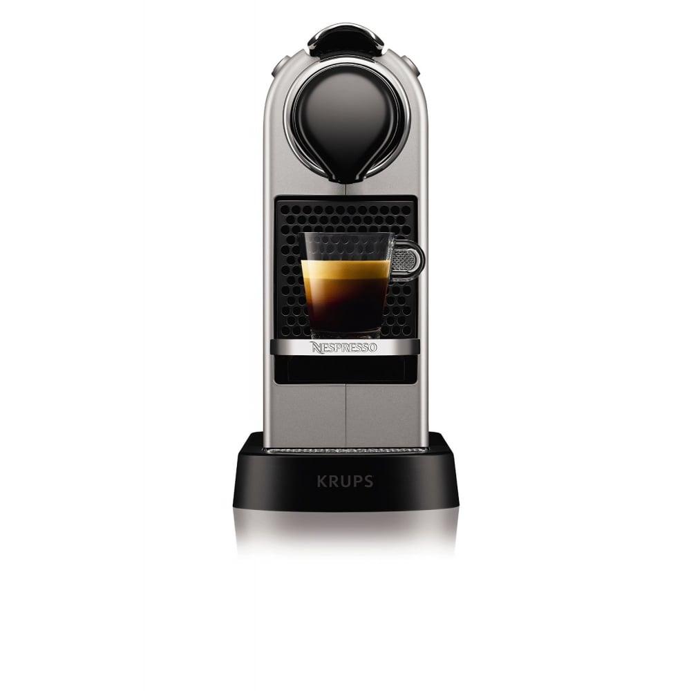 krups citiz nespresso machine silver krups from uk. Black Bedroom Furniture Sets. Home Design Ideas