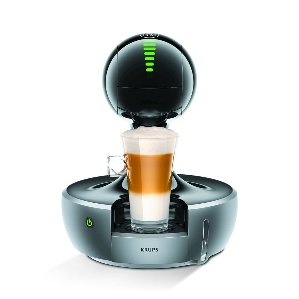 krups dolce gusto drop coffee machine silver home appliances from uk. Black Bedroom Furniture Sets. Home Design Ideas