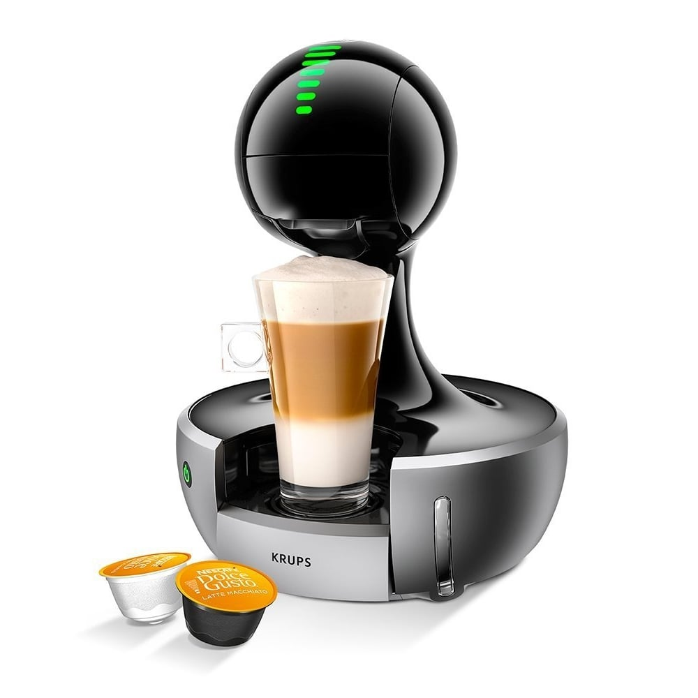krups dolce gusto drop coffee machine silver krups from uk. Black Bedroom Furniture Sets. Home Design Ideas