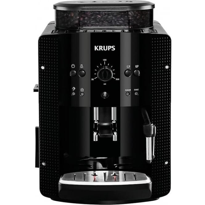 Krups EA8108 Bean To Cup Coffee Machine, Black
