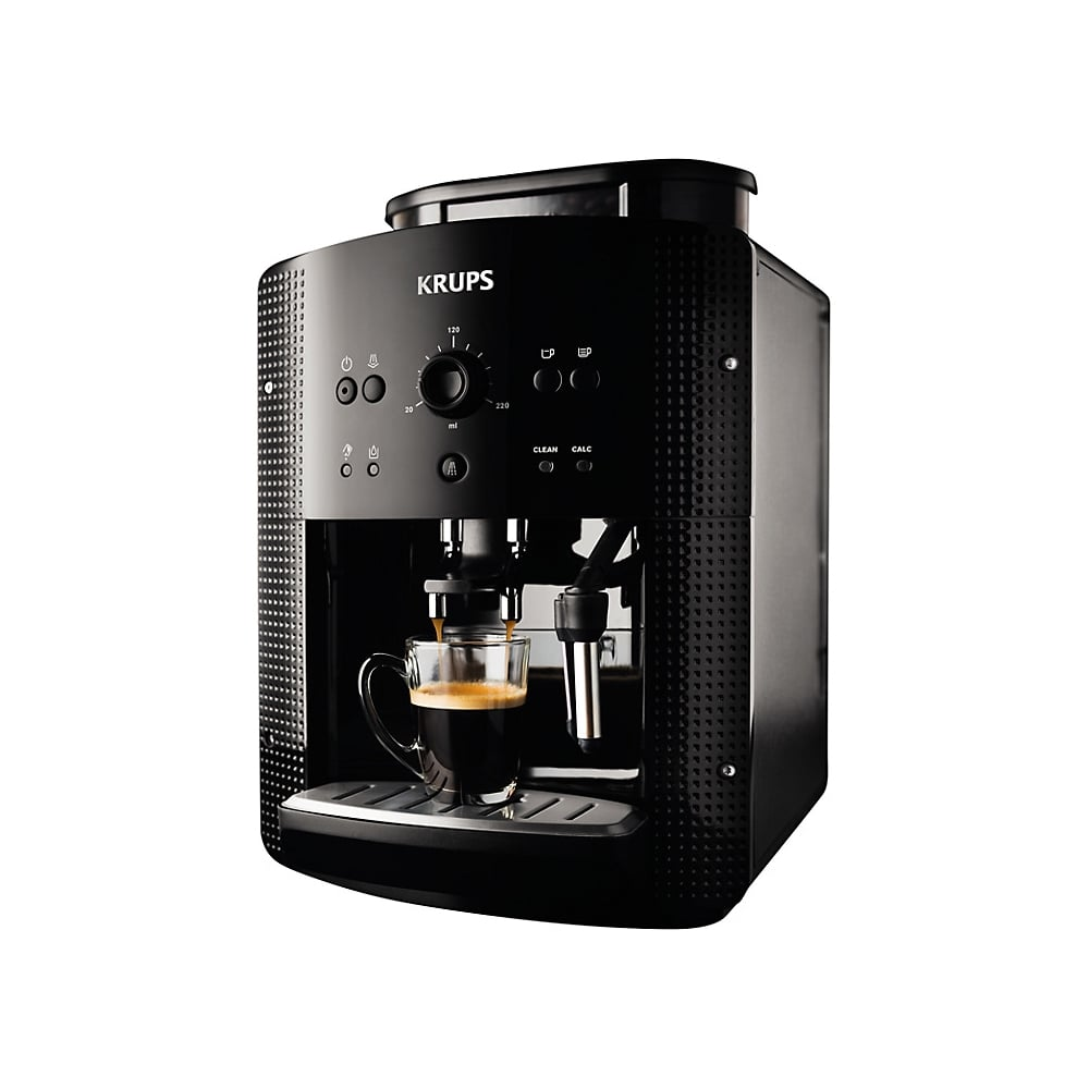 krups ea8108 bean to cup coffee machine black krups from uk. Black Bedroom Furniture Sets. Home Design Ideas