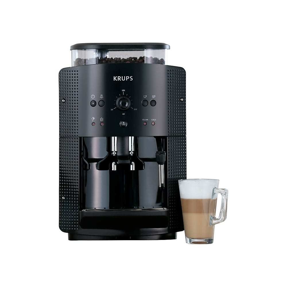 krups ea8108 bean to cup coffee machine black krups. Black Bedroom Furniture Sets. Home Design Ideas