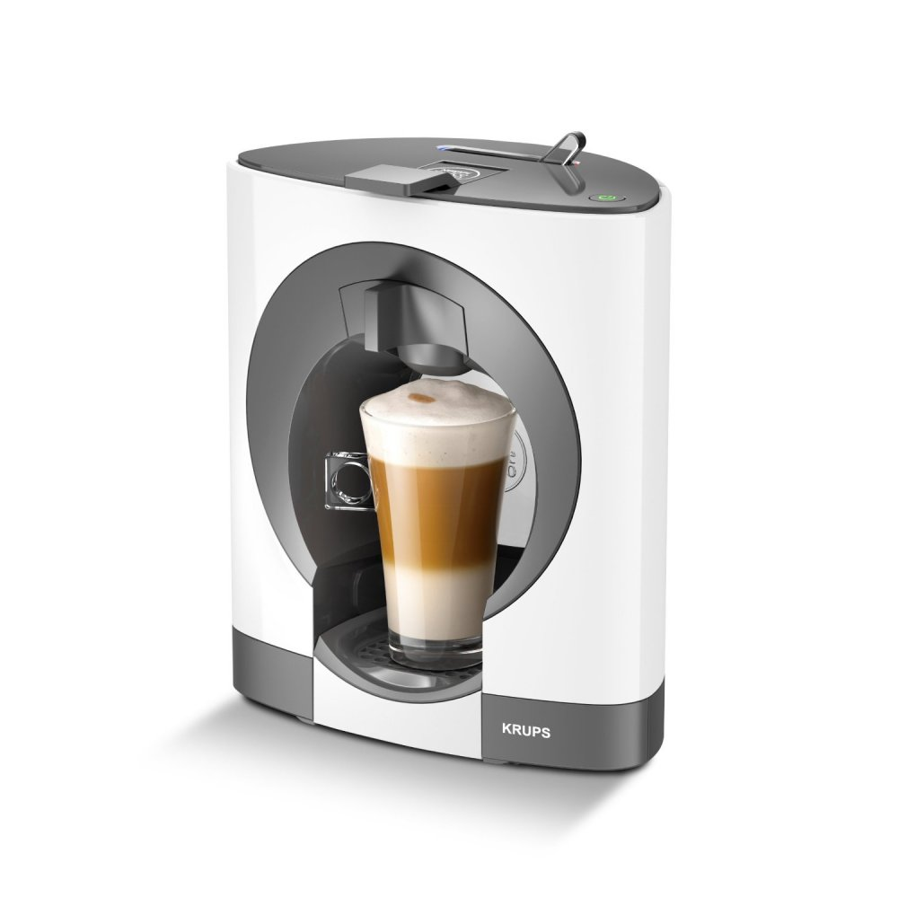 Krups Coffee Maker Capsules : Krups Nescafe Dolce Gusto Oblo Coffee Capsule Machine, White - Krups from Powerhouse.je UK