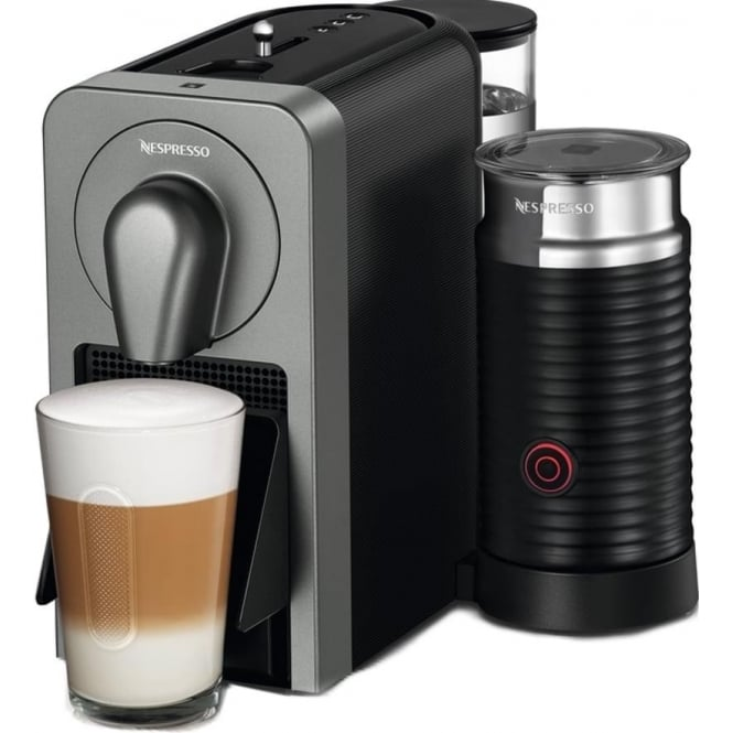 Krups Nespresso Prodigio Smart Coffee Machine, Black