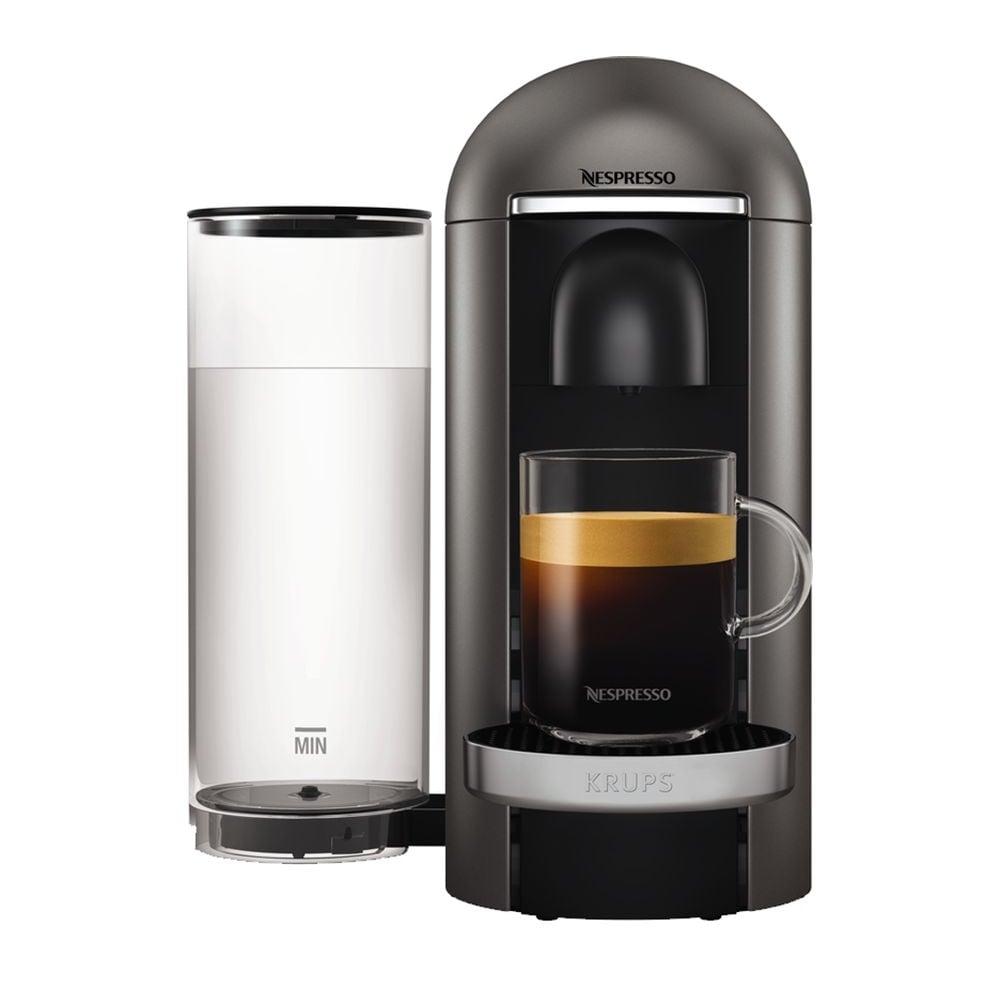 krups nespresso vertuoplus coffee machine titanium home appliances from uk. Black Bedroom Furniture Sets. Home Design Ideas