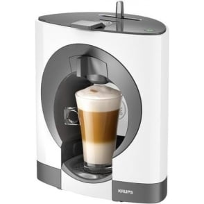 Krups Oblo Dolce Gusto Coffee Machine, White