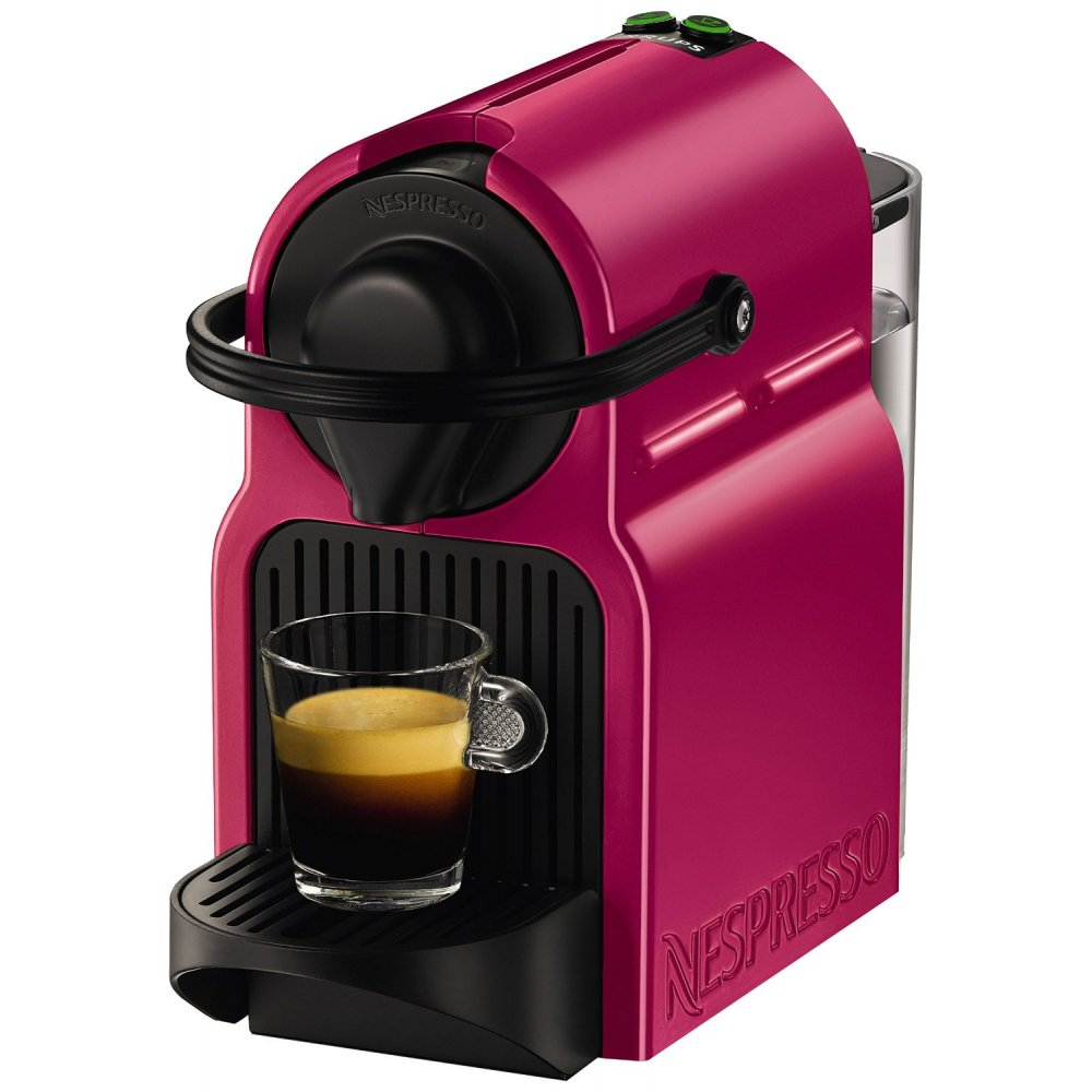 krups xn100740 nespresso inissia fuchsia coffee capsule. Black Bedroom Furniture Sets. Home Design Ideas