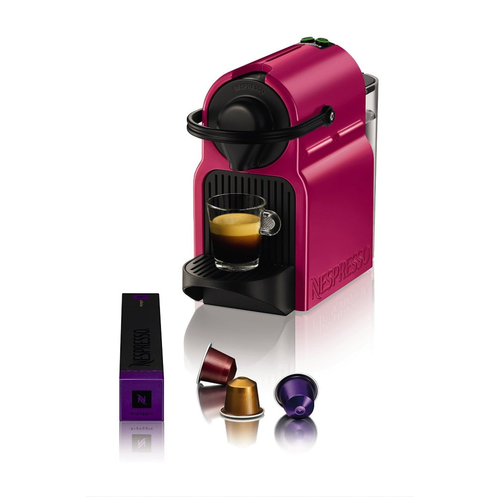 krups xn100740 nespresso inissia fuchsia coffee capsule machine krups from uk. Black Bedroom Furniture Sets. Home Design Ideas