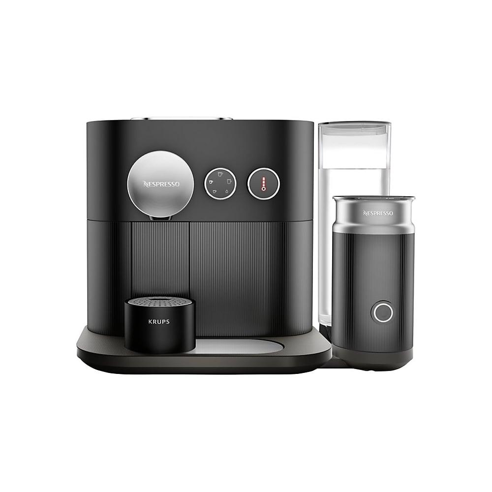 krups xn601840 expert nespresso coffee machine milk home appliances from uk. Black Bedroom Furniture Sets. Home Design Ideas
