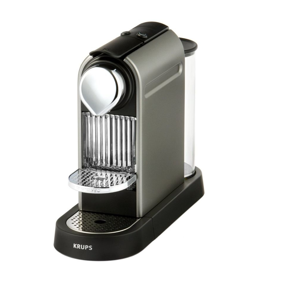 Krups Coffee Maker Capsules : Krups XN720T40 Nespresso Citiz Titanium Coffee Capsule Machine - Krups from Powerhouse.je UK