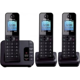 KX-TGH223 Digital Cordless Phone with Colour LCD, Trio