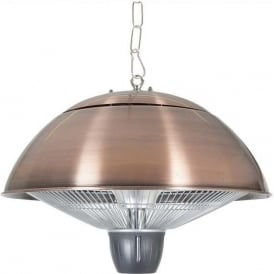 Copper Hanging Halogen Electric Heater