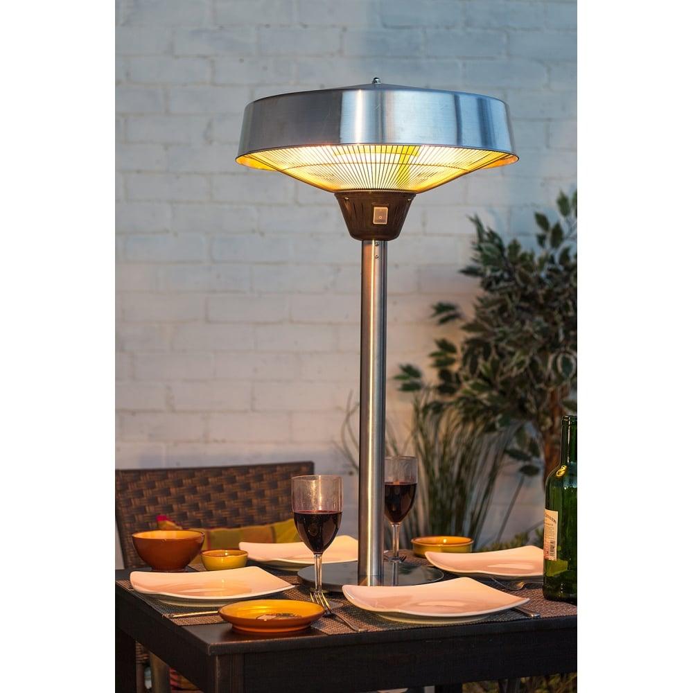 La Hacienda Table Top Halogen Electric Heater La