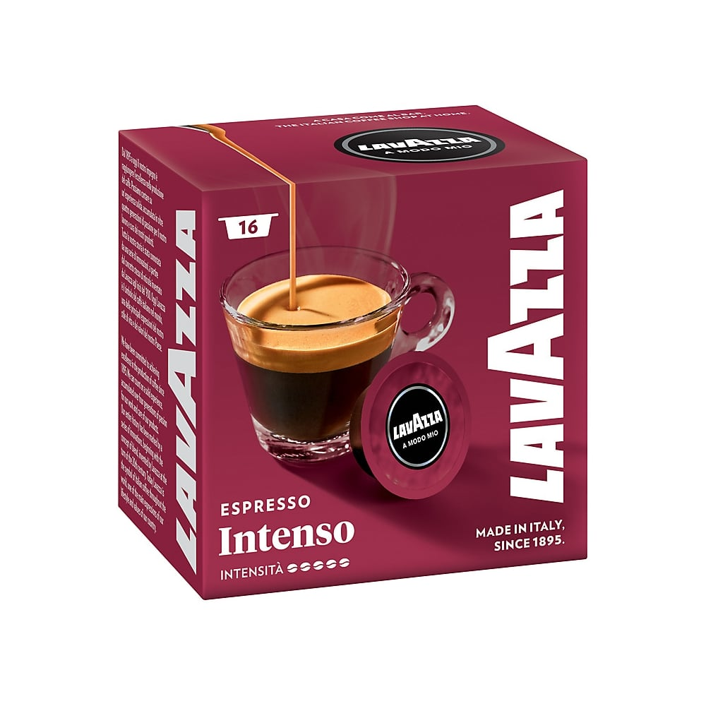 lavazza intenso a modo mio espresso capsules 16pk home appliances from uk. Black Bedroom Furniture Sets. Home Design Ideas