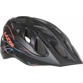 Pearl Women's Helmet, Medium, Black Swirls