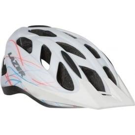 Pearl Women's Helmet, White Swirls