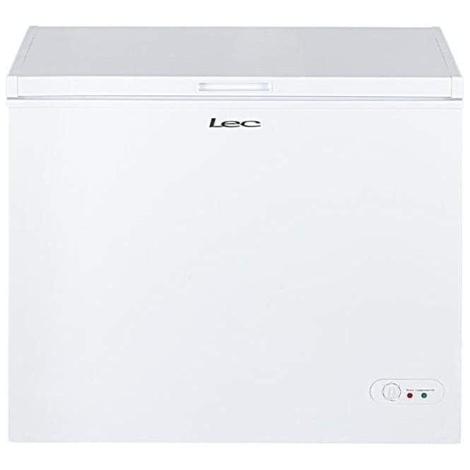 LEC CF200LW 200L Chest Freezer, White