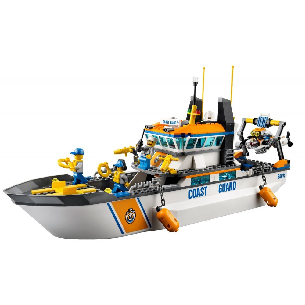 lego city coast guard images galleries with a bite. Black Bedroom Furniture Sets. Home Design Ideas
