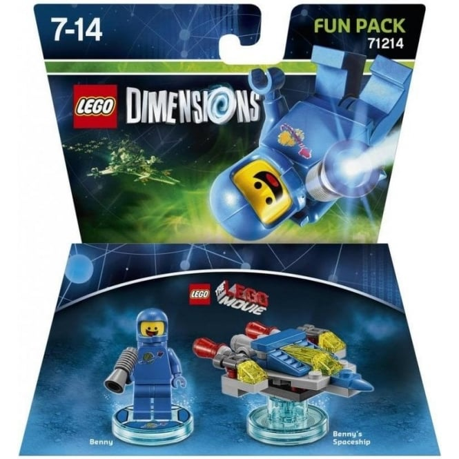 Lego Dimensions: Fun Pack - LEGO Movie Benny