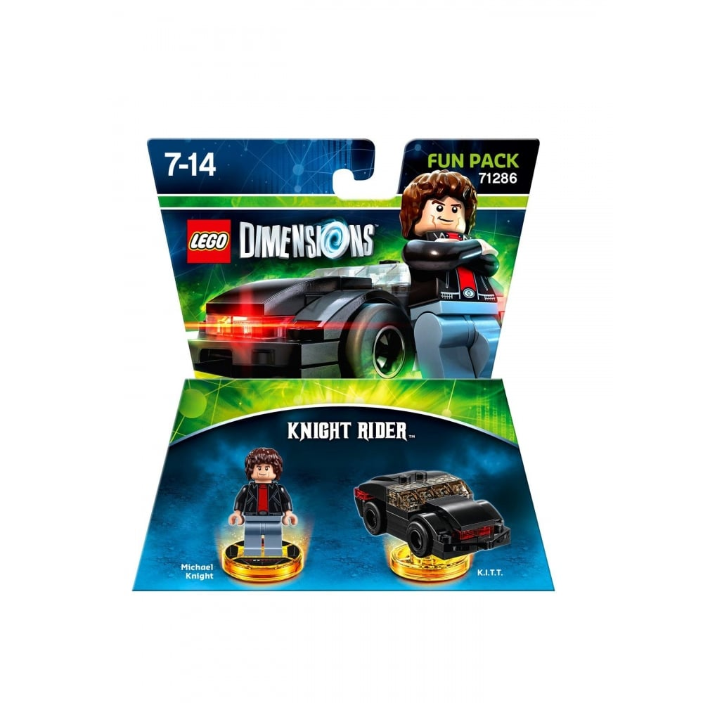 lego dimensions knight rider fun pack lego from. Black Bedroom Furniture Sets. Home Design Ideas