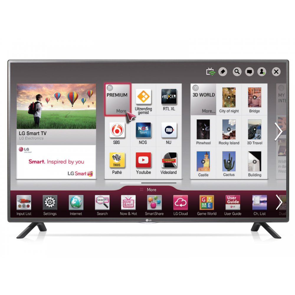lg 55lf580v 55 full hd smart led tv with freeview hd and built in wi fi lg from uk. Black Bedroom Furniture Sets. Home Design Ideas
