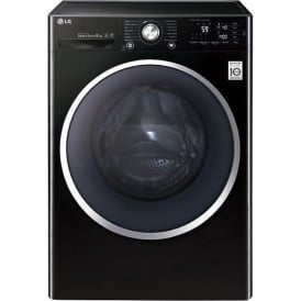 F14U2TCN8 8kg, 1400rpm, A+++ Freestanding Washing Machine, Black