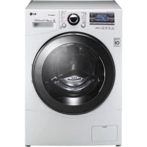 F1695RDH 12kg Wash, 8kg Dry, Freestanding Washer Dryer With Steam, White