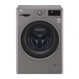 F2J6TN8S 8kg, 1200prm, A+++  Freestanding Washing Machine, Shiny Steel