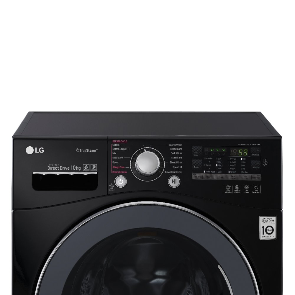how to unlock lg direct drive washing machine