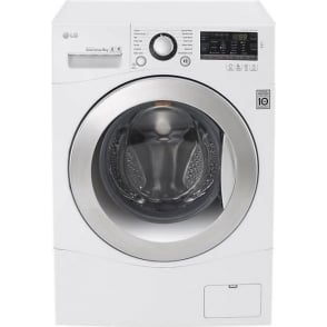 FH4A8TDN2 Freestanding Washing Machine, 8kg Load, A+++ Energy Rating, White