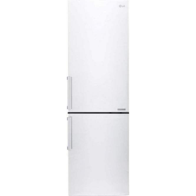 LG GBB59SWJZB Fridge Freezer A++, White