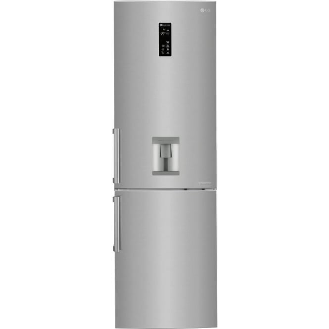 LG GBF59PZKZB A++ Fridge Freezer with Water Dispenser, Stainless Steel
