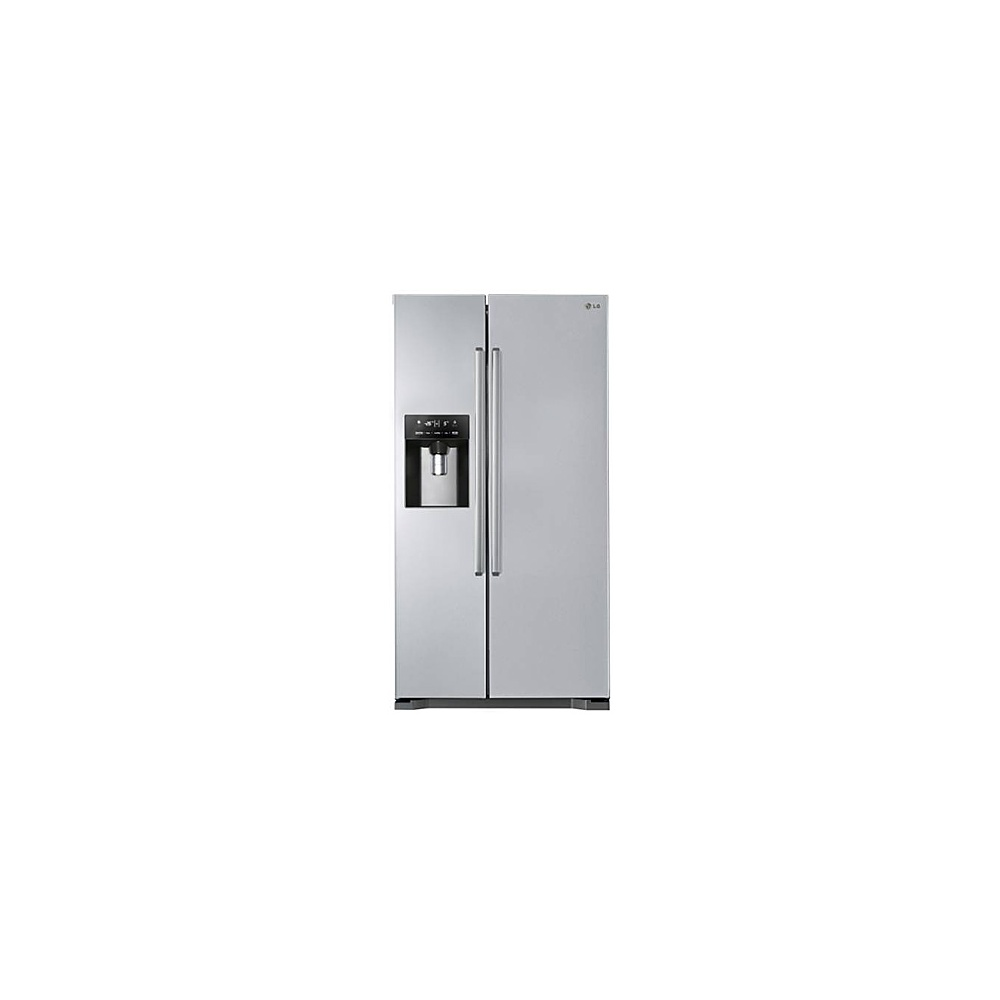 American Fridge Freezer Plumbed: LG GSL325PZYVD A+ American Style Fridge Freezer No Plumbed