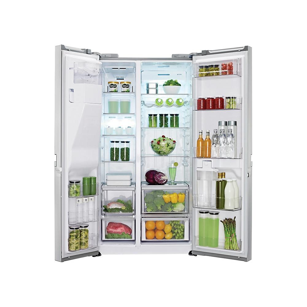 American Fridge Freezer Plumbed: LG GSL545PVYV A+ American Style Fridge Freezer With Non