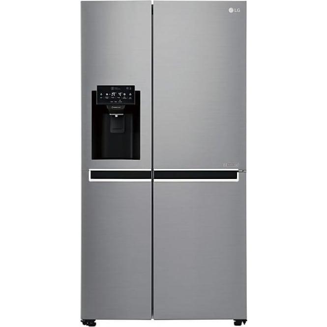 LG GSL761PZXV A+ American Style Fridge Freezer, Silver