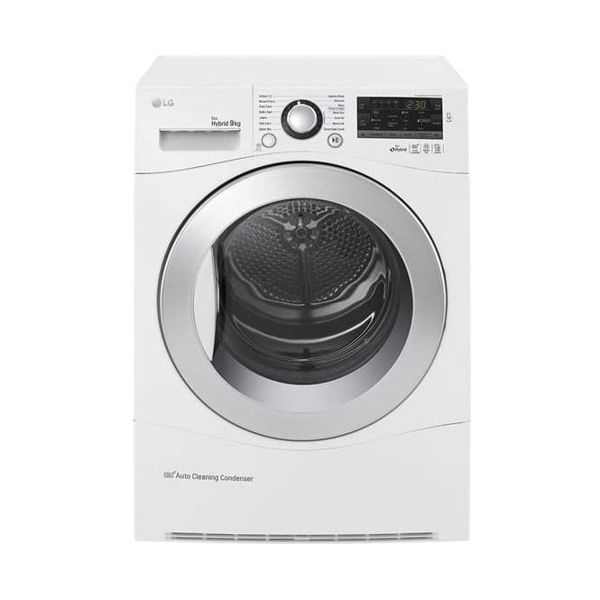 LG RC9055AP2F Condenser Tumble Dryer, White