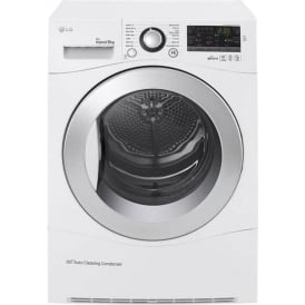 RC9055AP2F Condenser Tumble Dryer, White