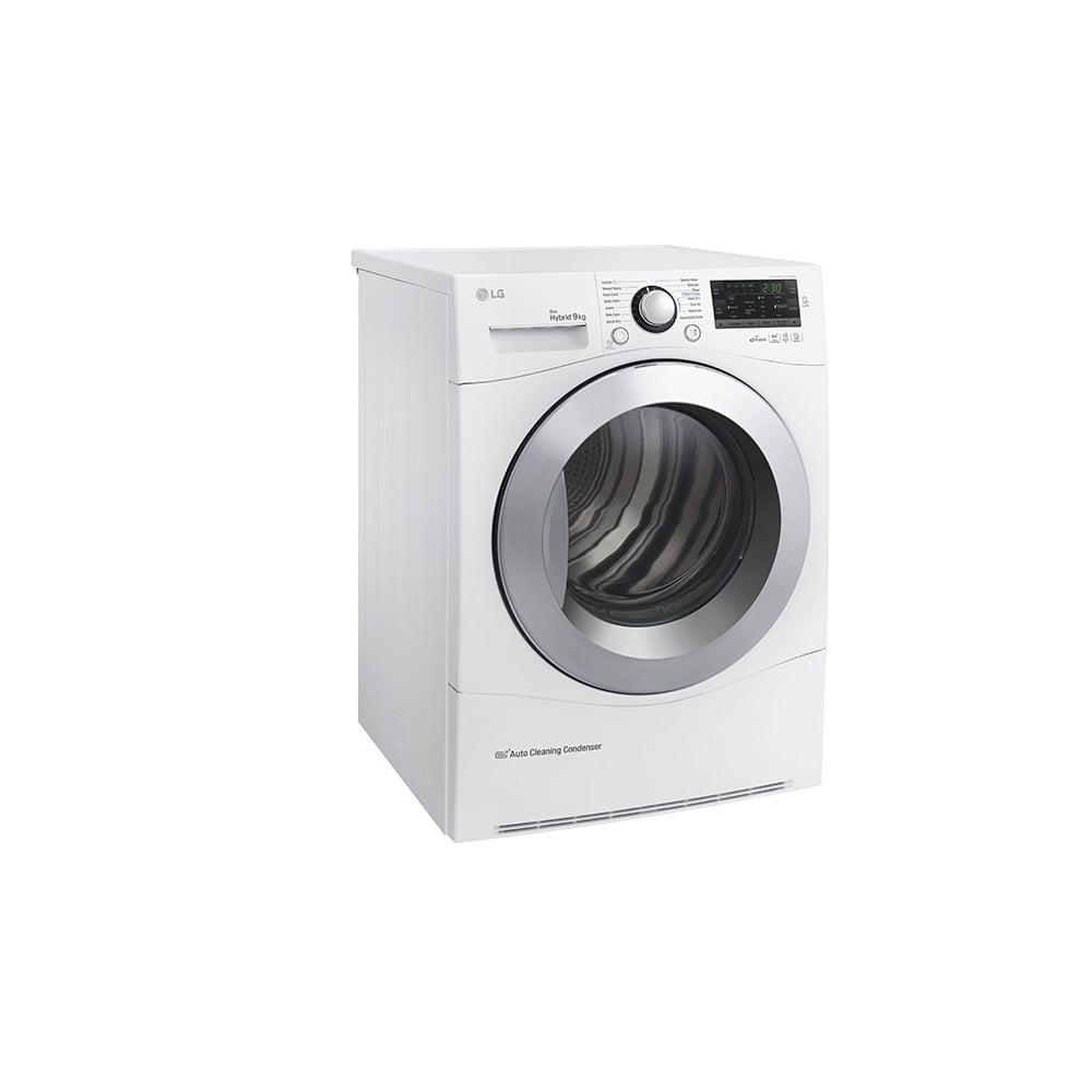 Lg Tumble Dryer Black ~ Lg rc ap f heatpump condenser tumble dryer white